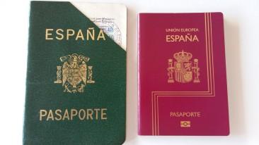 pasaportes de ayer y hoy
