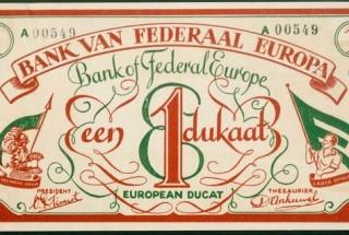 Imagen del primer Euro