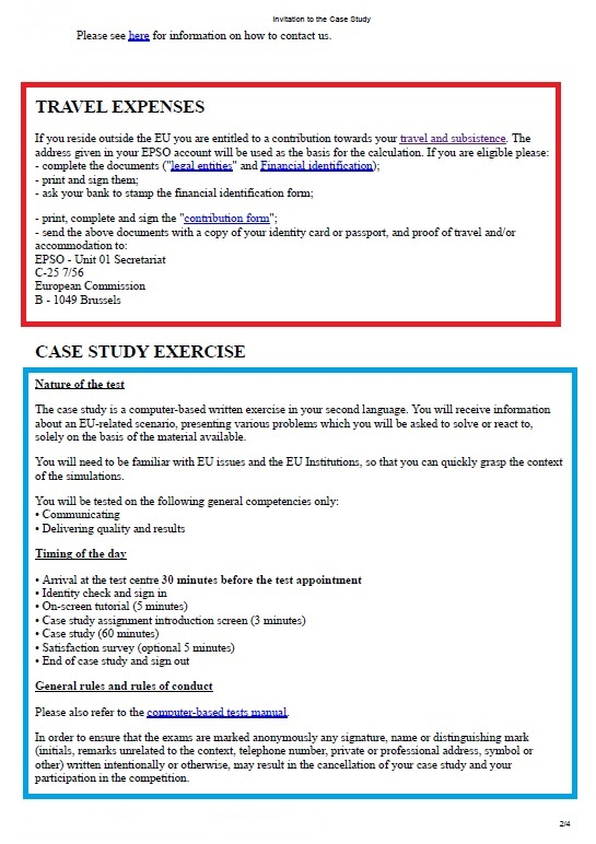 example of a case study